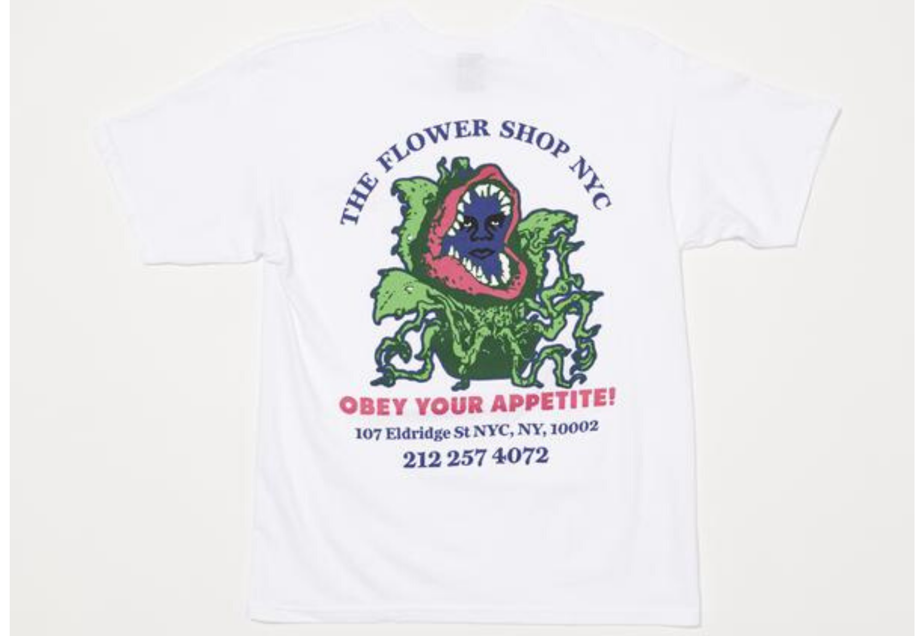 Obey x The Flower Shop of Horrors Tee