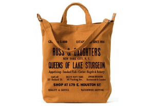 Russ & Daughters Vintage Tote Bag