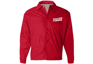 Tacos 1986 Red Coaches Jacket