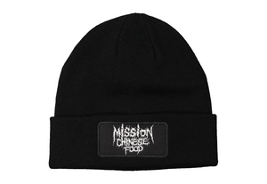Mission Chinese Food Metal Logo Beanie