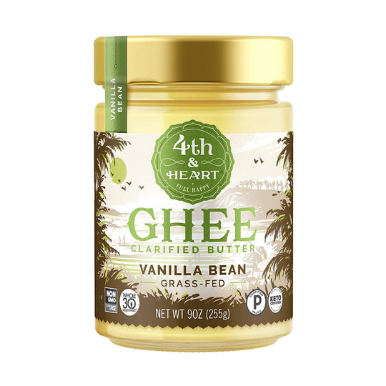 4th & Heart Vanilla Bean Grass-Fed Ghee Butter