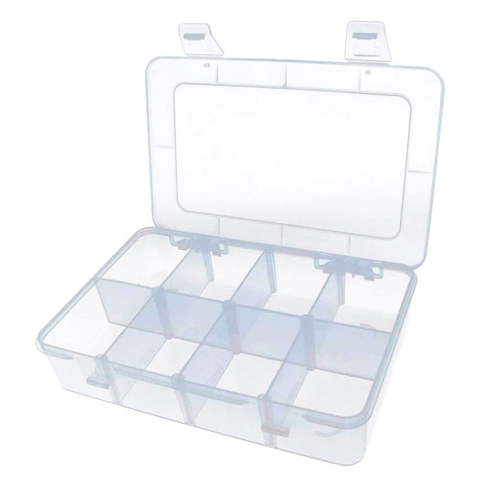 Yootop 8 Grids Hard Plastic Case with Removable Dividers
