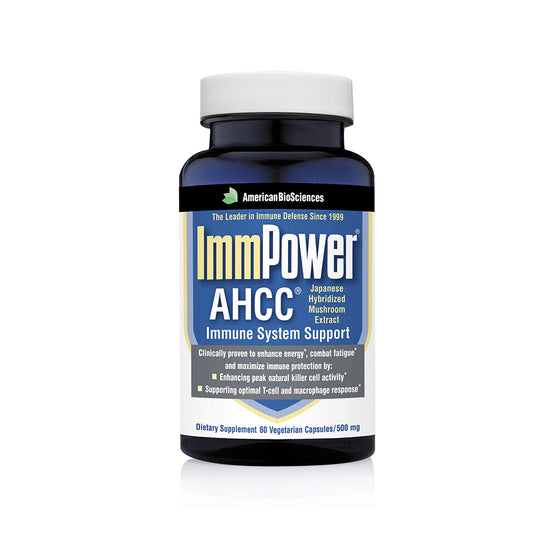 American BioSciences ImmPower AHCC Supplement - Immune System Support