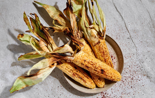 Grilled Corn on Cob with Miso Butter
