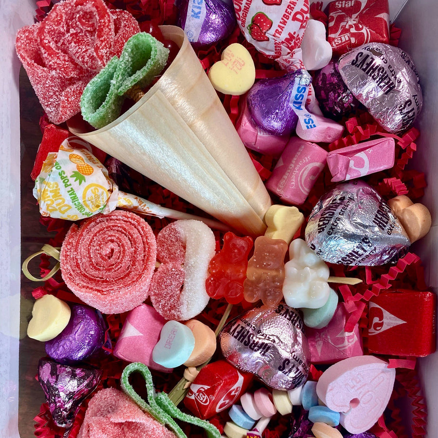 Valentine's Day Candy Mash Up