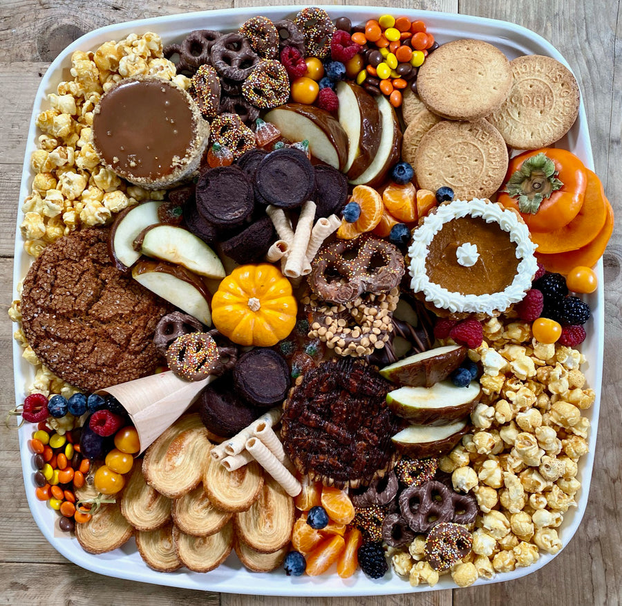 Thanksgiving On The Go Dessert Platter