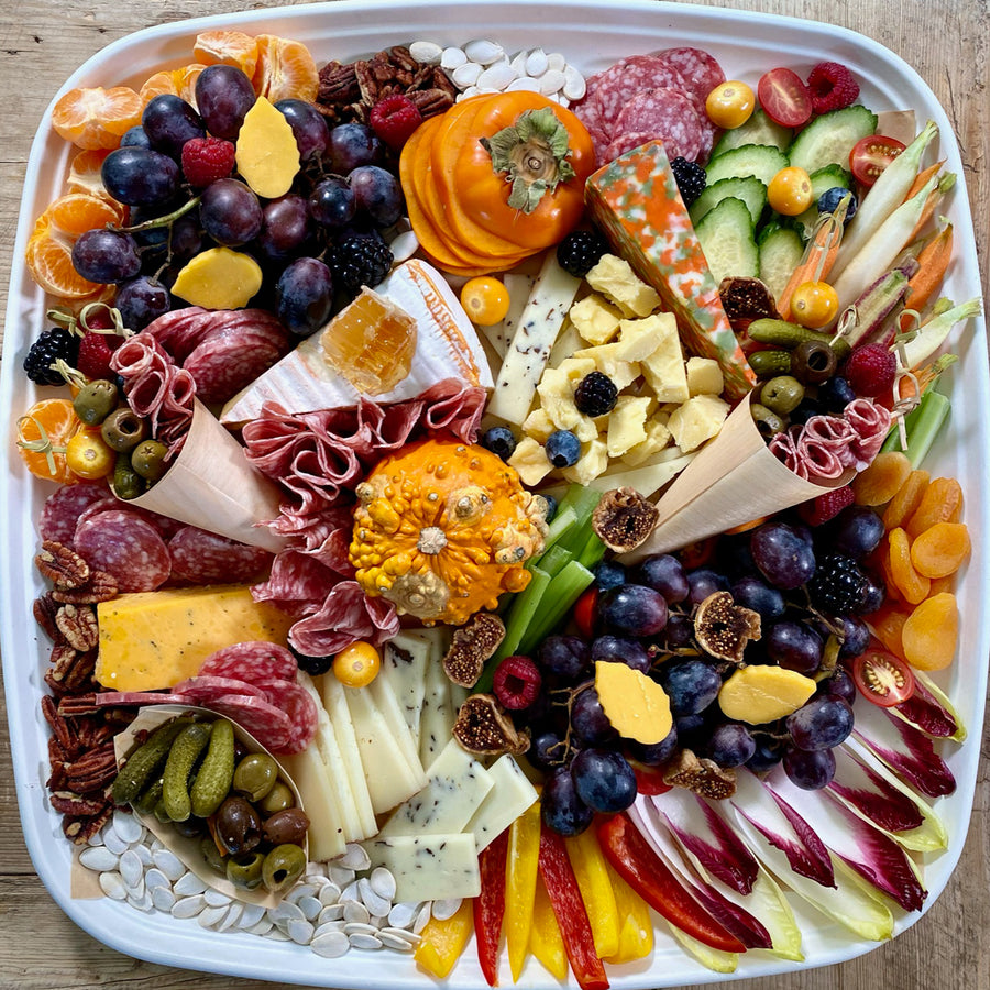 Thanksgiving On The Go Snack Platter