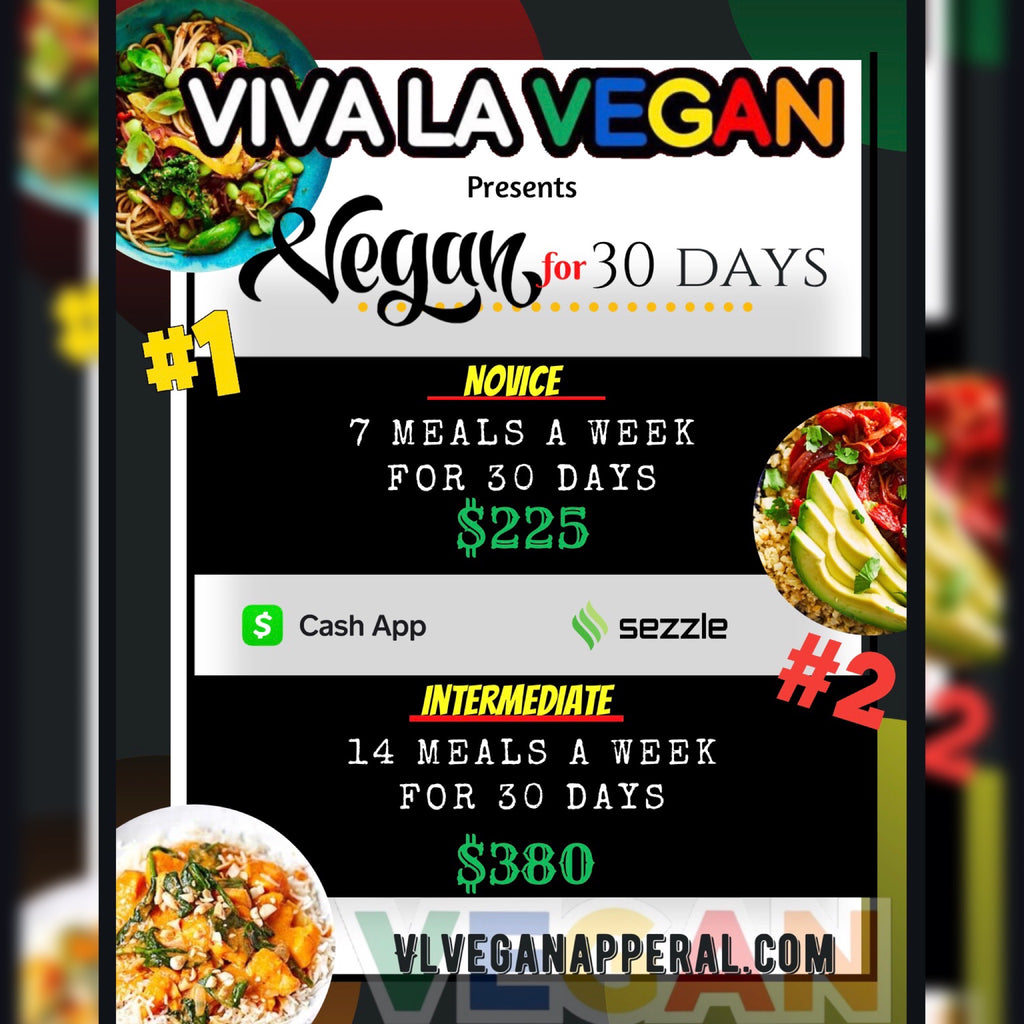 Vegan 30 Day Meal package