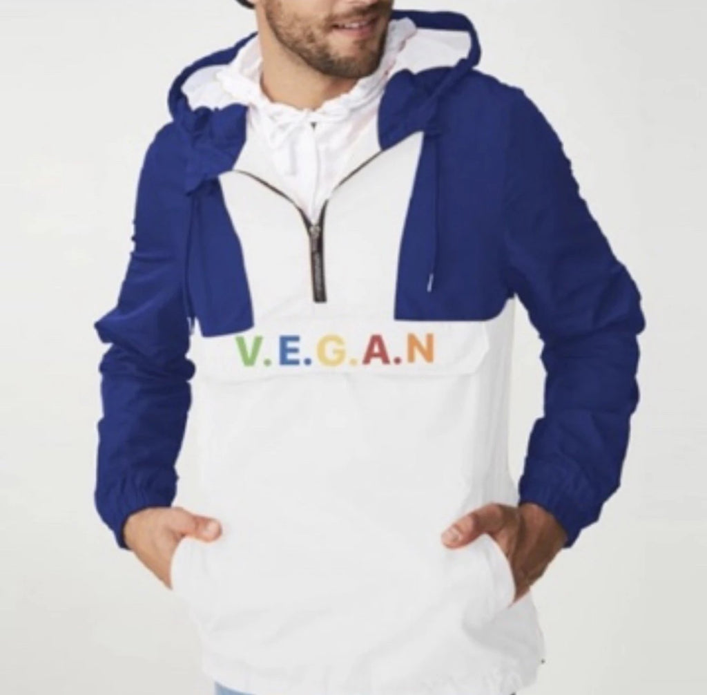 Unisex Values V.E.G.A.N Windbreaker