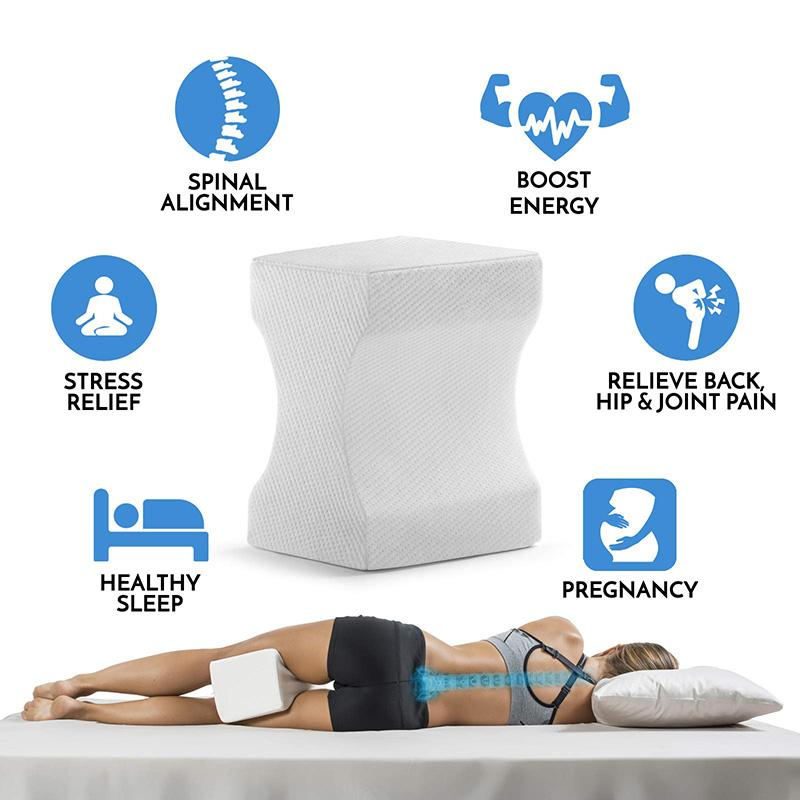 Orthopedic Knee Pillow, Leg Pillow For Sleeping (40% OFF)