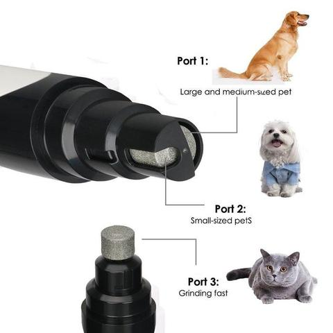 Amazing USB Dog & Cat Nail Trimmer, 🔥 (50% OFF)