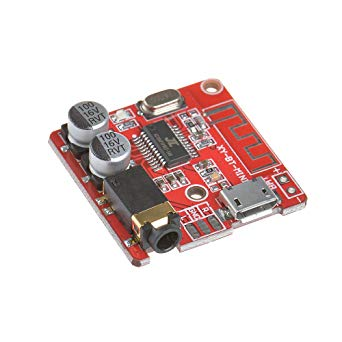 (Excellent) Mini MP3 Bluetooth 4.1 Lossless Decoder Stereo Output Board Car Speaker Amplifier Module Circuit Board Module 3.7V 5V Micro Usb