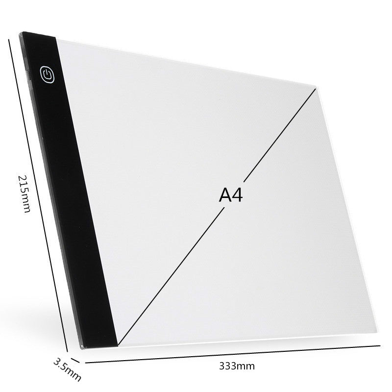 Amazing Digital Graphic Tablet A4 LED Artist Thin Art Stencil Drawing Board Light Box Tracing Writing Portable Electronic Tablet Pad