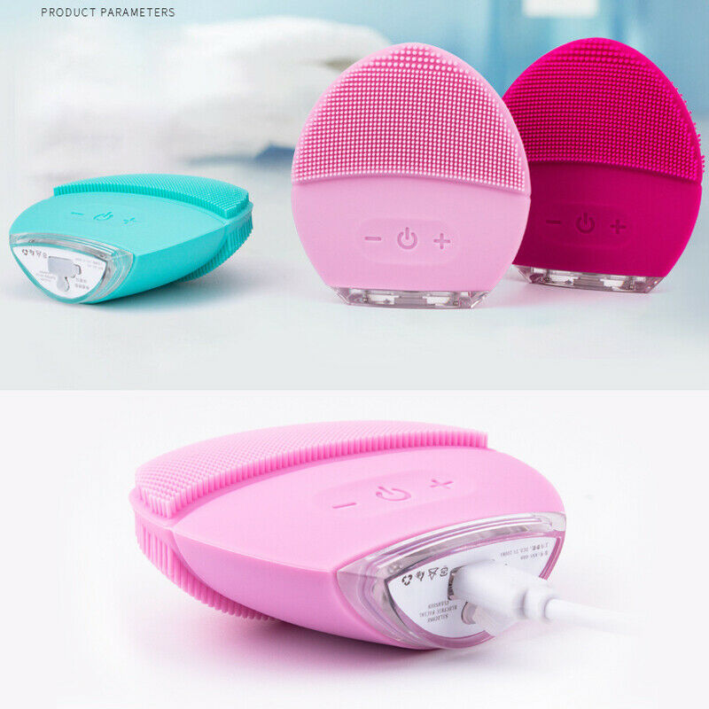 The latest trends in 2019 , silicone facial brush, facial massager, pimple and make-up remover
