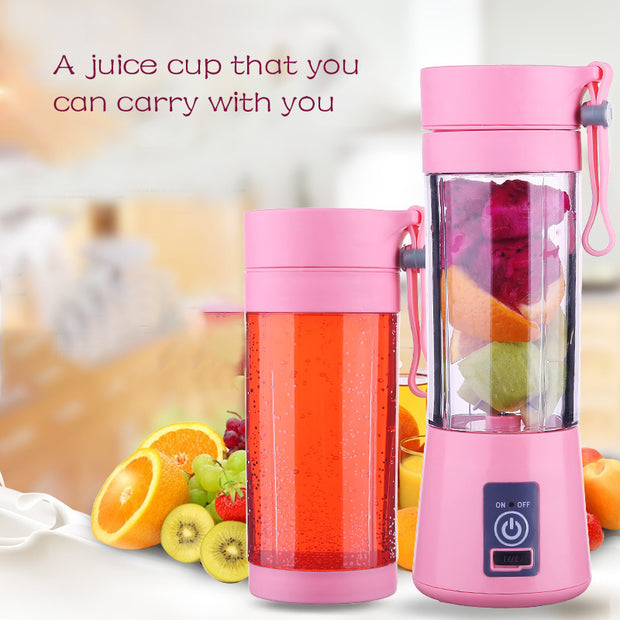 Blender for juicing, Cup USB Rechargeable, Maker Cup Mixer Bottle (50% OFF)