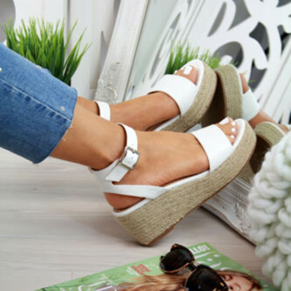 2019 Sandals Women Wedges Shoes Pumps High Heels Sandals (30% OFF)