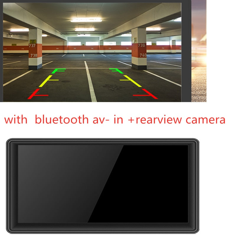 JUST Online INCREDIBLE G7 7 inch Car GPS Navigation  FM  Bluetooth AVIN Reversing Camera Free Map  Truck gps navigators