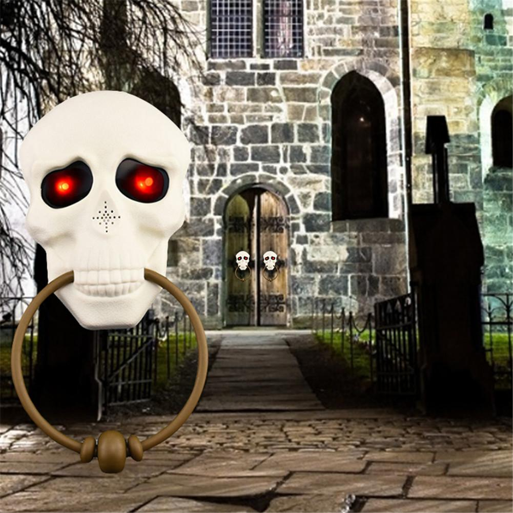 Horror Props Halloween Door Decorations Welcome (30% OFF)