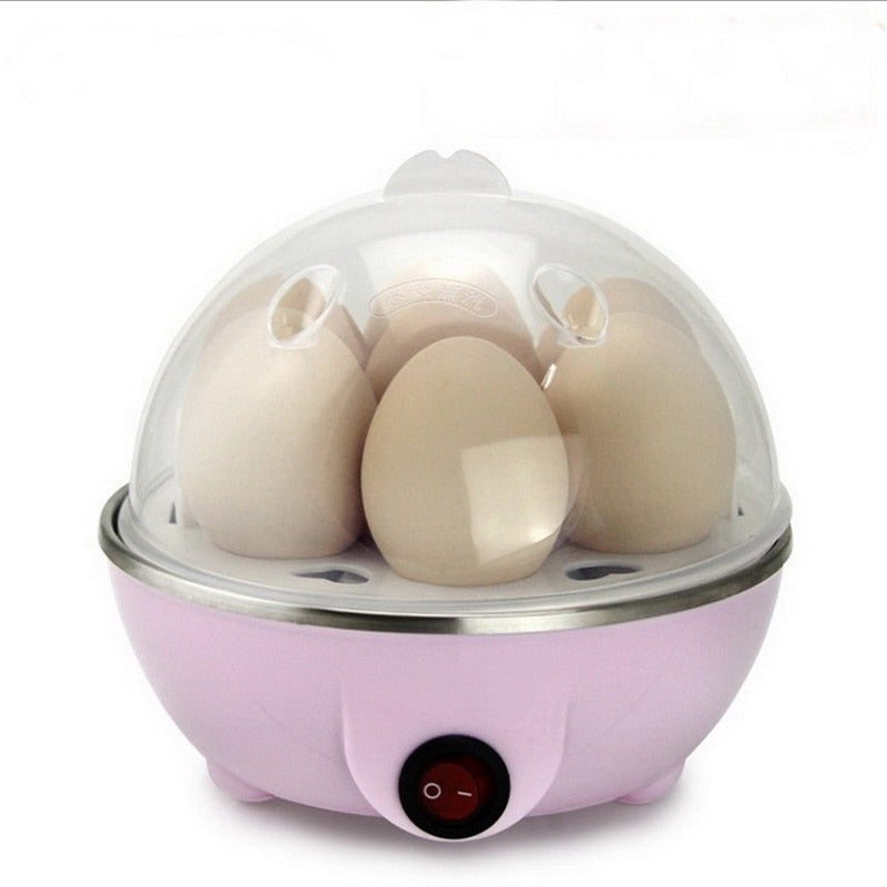 NEW Multi-function Electric Egg Cooker Boiler Stainless Steel Steamer Cooking Tools