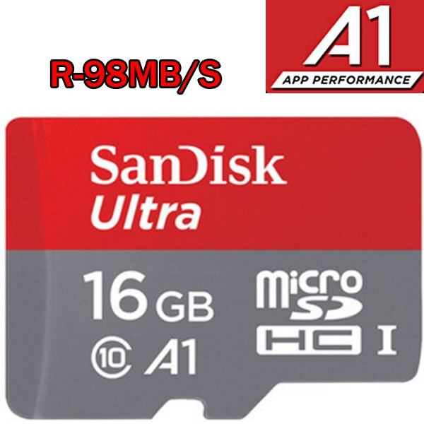 wonderful SanDisk micro sd 128GB 64GB 32GB 16GB 98mb/s TF usb flash memory card microsd  8GB/48MB/s class10 Original Product shipping