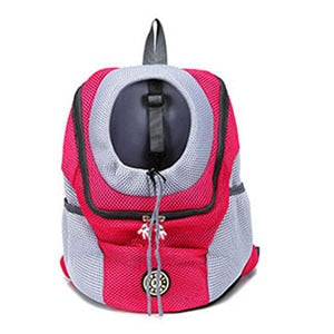 Double Shoulder Portable Travel Backpack Mesh Backpack Head (35% OFF)
