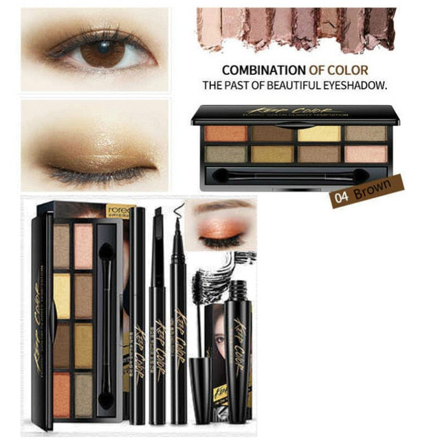 Profesional make up, Exotic unique, dazzling makeup set, fashion, Elegance and Glamor, (40% OFF)