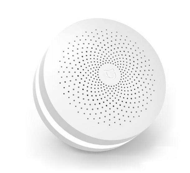 Xiaomi Mijia Smart Home Multifunctional Gateway 2 Alarm System Intelligent Online Radio Night Light Bell