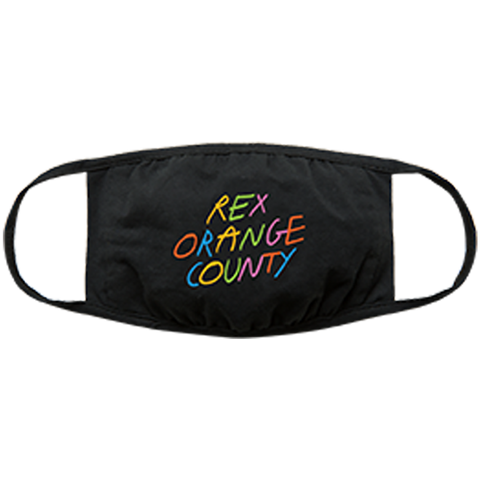Rex Orange County Logo Face Mask