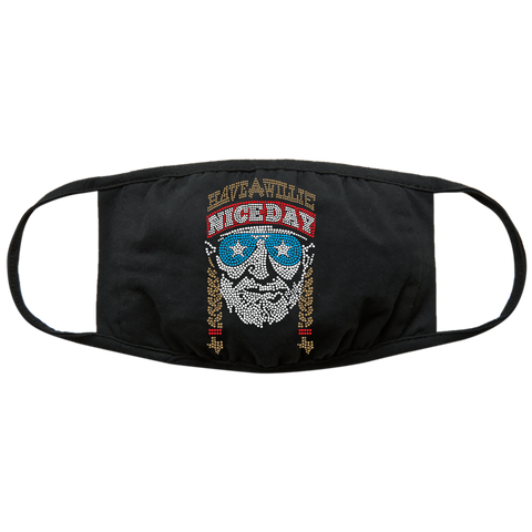 Willie Nelson Face Mask