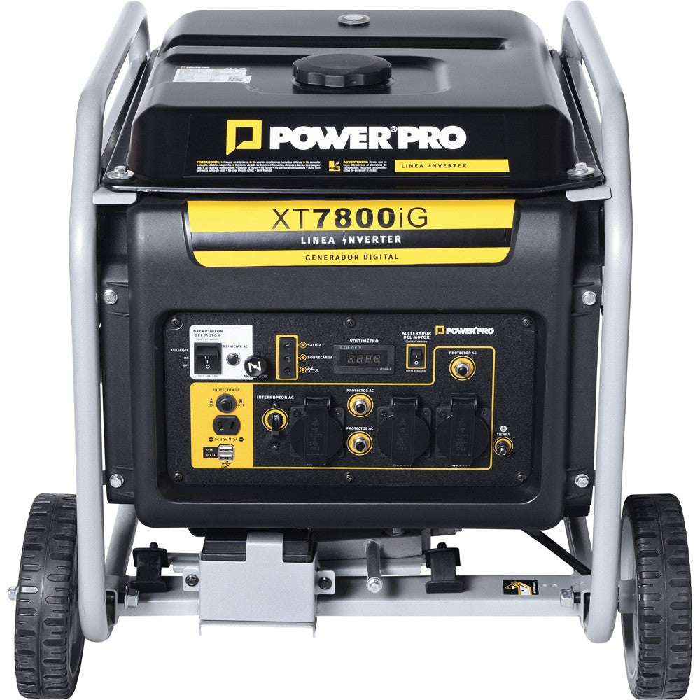 Generador Inverter XT7800IG - Gasolina 7.5kW - Power Pro