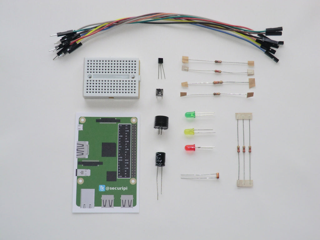 Electronics starter kit for Raspberry Pi. Simple GPIO projects for ...