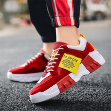 Load image into Gallery viewer, Men's platform breathable wild sneakers Sport shoes