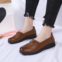 Load image into Gallery viewer, Solid Color Soft Flexible Flat Comfortable Loafers For Women