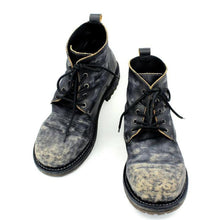 Load image into Gallery viewer, Men's handmade vintage leather ankle boots