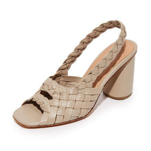 Load image into Gallery viewer, Women Summer Peop Toe Chunky Heel Sandals