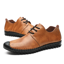 Load image into Gallery viewer, Men's versatile   comfortable casual leather shoes