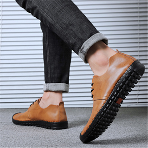 Men's versatile   comfortable casual leather shoes