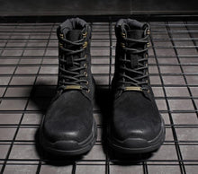 Load image into Gallery viewer, Casual Leather warm army boots   Martin boots