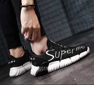 Men's wear-resistant knitted breathable Men's Sneakers