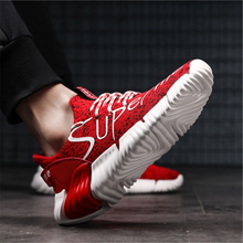 Load image into Gallery viewer, Men's wear-resistant knitted breathable Men's Sneakers