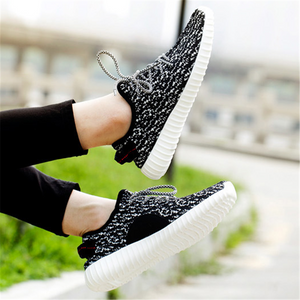 Couple models fashion breathable wild sneakers sports shoes