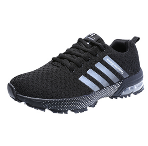 Air cushion shoes sports flying woven casual breathable shoes