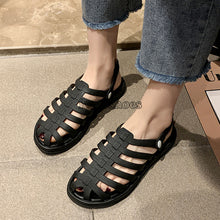 Load image into Gallery viewer, Solid Candy Color Female Holiday Beach Shoes Sandals Slides Shoe