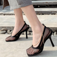 Load image into Gallery viewer, Daily Mesh High Heel Summer Heels