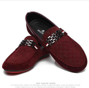 Men Black Loafer Trendy Shoes