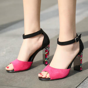 Summer Daily Rhinestone Sandals