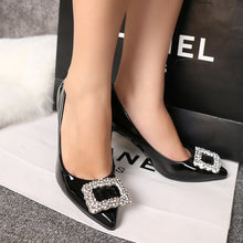 Load image into Gallery viewer, Pointy Shallow High-heeled Shoes Night Club Thin Women's Single Shoes Versatile Women's Shoes