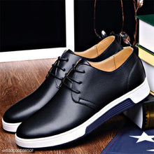 Load image into Gallery viewer, Fashion Business Casual Plain Leather Men Shoes
