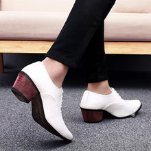 Load image into Gallery viewer, Fashion Plain Strappy Pointed Head Coarse Heel Shoes