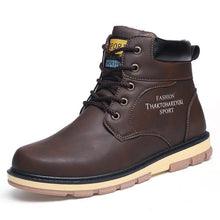 Load image into Gallery viewer, Pu Leather Wear Resisting Casual Fashion Men Men Boots